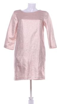 Dámské šaty Miss Selfridge růžovozlaté