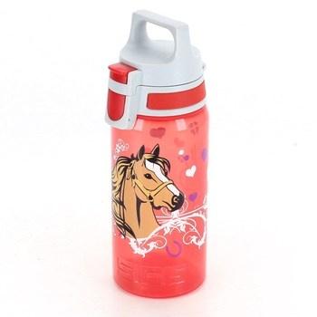 Lahev Sigg Viva 8596.60 s koněm červená