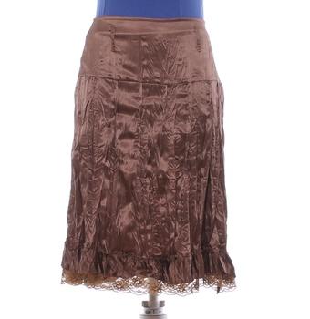 Dámská sukně Made in Italy hnědá