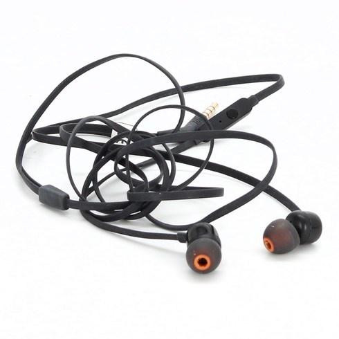 Sluchátka do uší JBL černé barvy