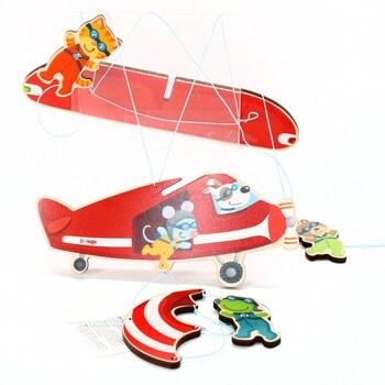 Letadlo HABA 304758 závěsná dekorace