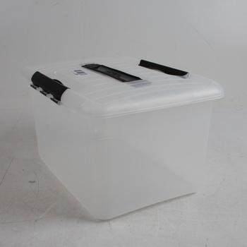 Plastový box H Curver s víkem