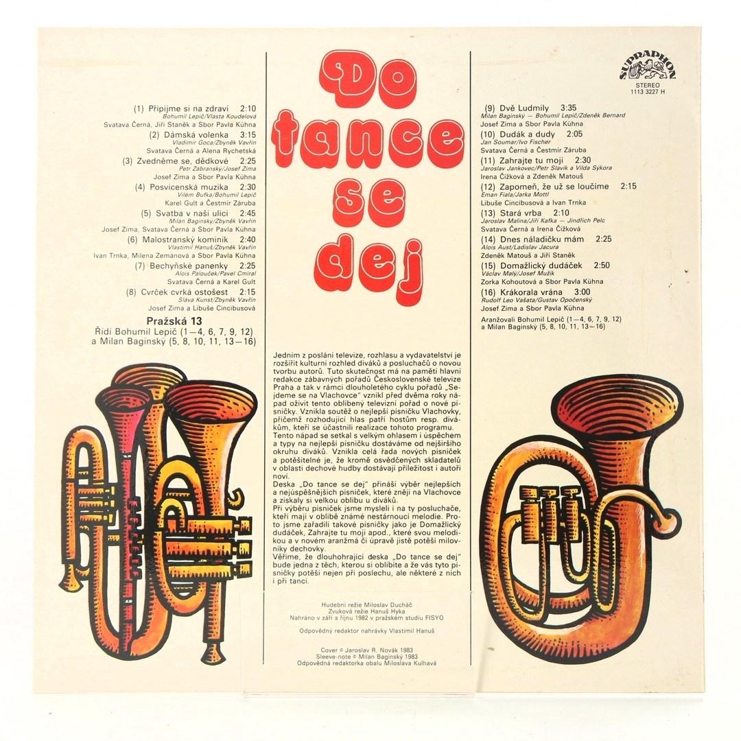Gramofonová deska: Do tance se dej