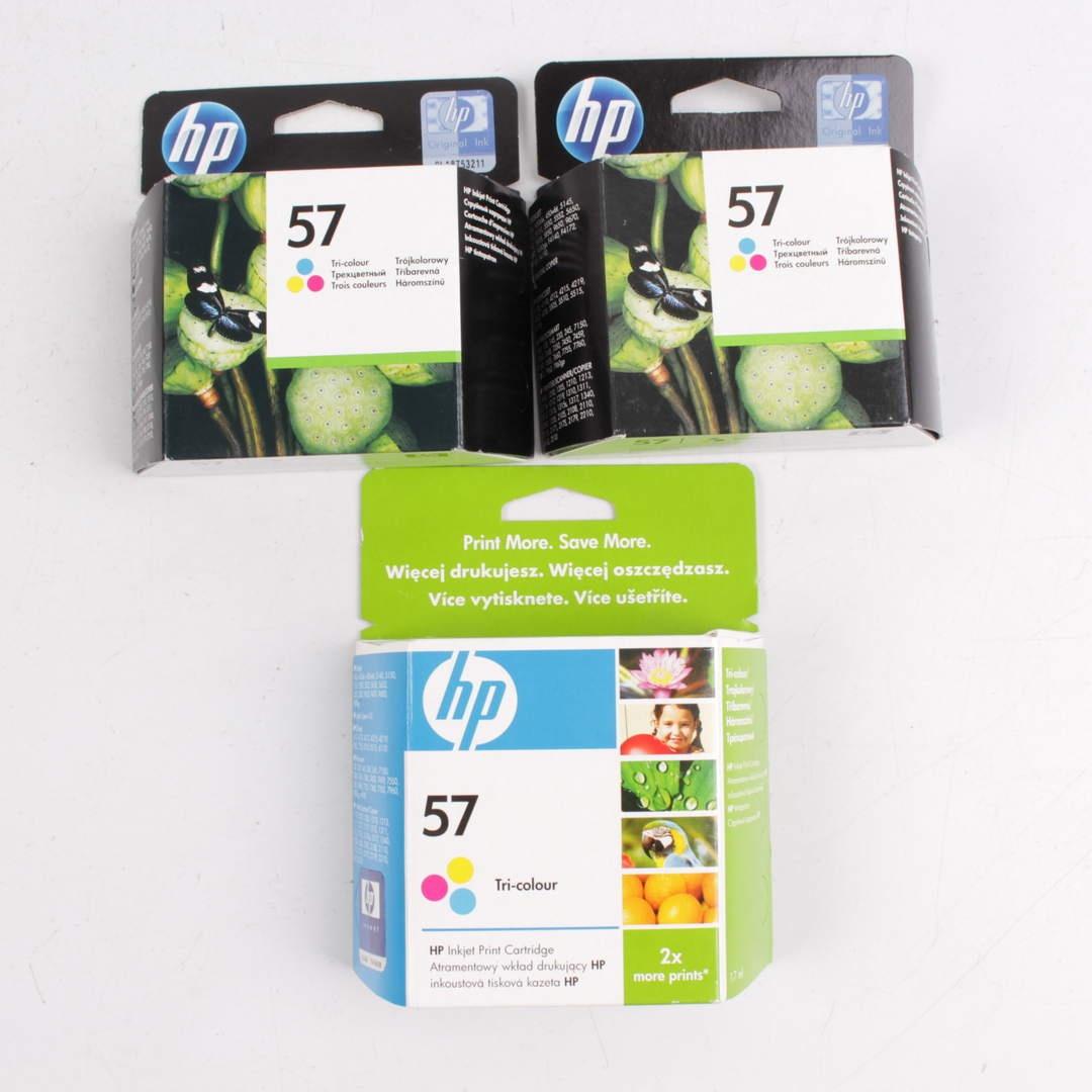 HP 57 barevná - 3 ks