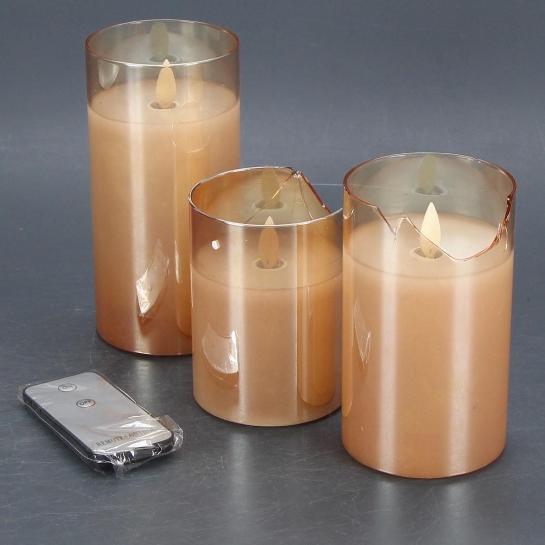 Dekorativní LED svíčky Kithouse s ovládáním