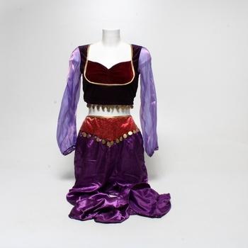 Kostým Smiffys Arabian Princess fialové