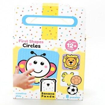 Puzzle pro nejmenší Banana Panda 33668