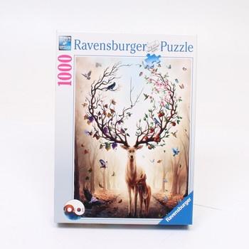 Puzzle 1000 Ravensburger Bájný jelen 150182