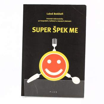 Kniha Super Špek Me Luboš Bokštefl
