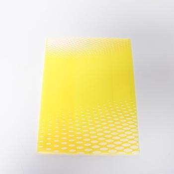 Desky na dokumenty NEON A4 PP žluté