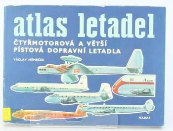 Kniha Václav Němeček: Atlas čtyřmotorových letadel