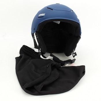Lyžařská helma Uvex P1us 2.0 matná modrá