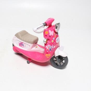 RC Scooter růžový Baby Born 826133
