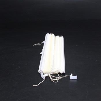 Bílá roleta od značky Khome