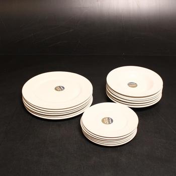 Sada porcelánových talířů Tognana 18ks