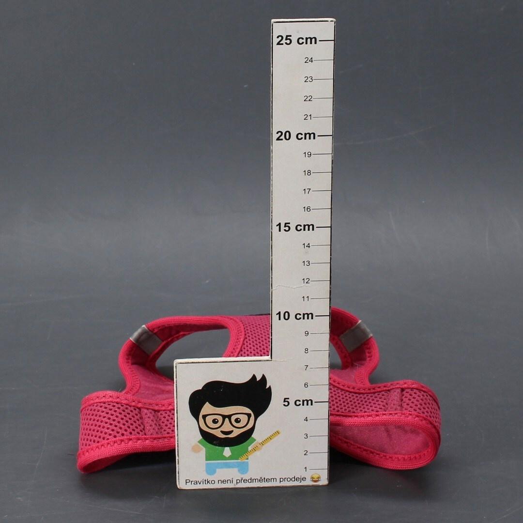 Postroj pro psy Curli S fuchsiová 4-7 kg