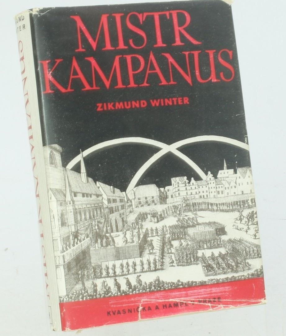 Kniha Zikmund Winter: Mistr Kampanus