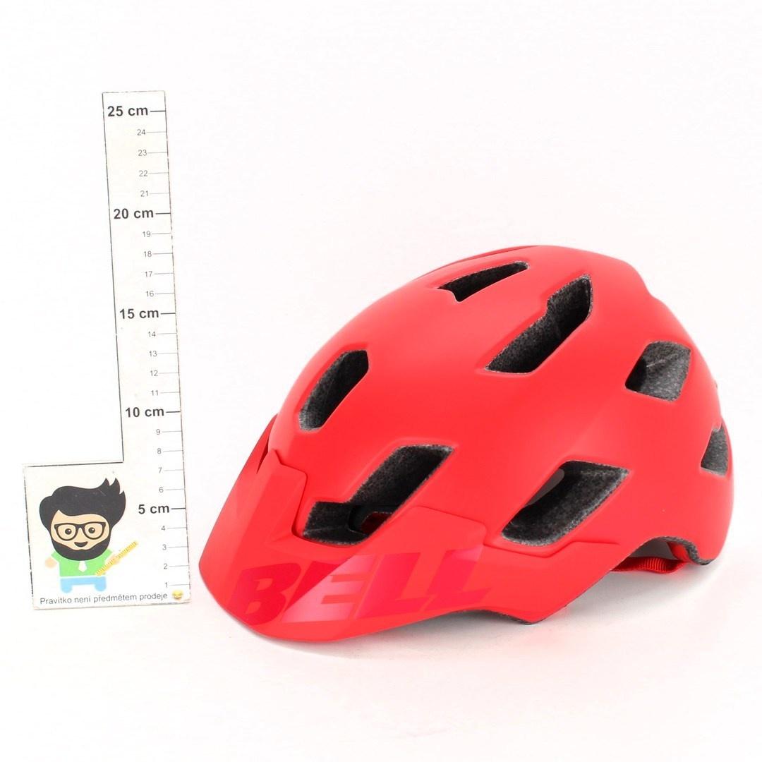 Cyklistická helma Bell Stoker červená
