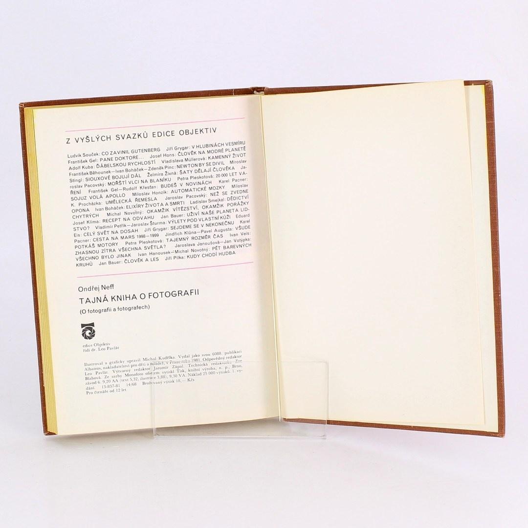 Tajná kniha o fotografii - Ondřej Neff