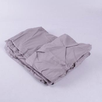 Prostěradlo šedé polyester