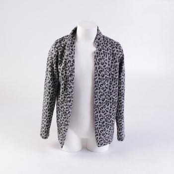 Dětské sako H&M vzor leoparda