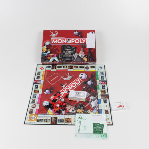 Hra Monopoly The Nightmare Before Christmas