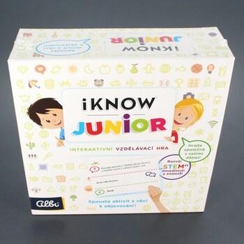 Vědomostní hra Albi iKnow Junior