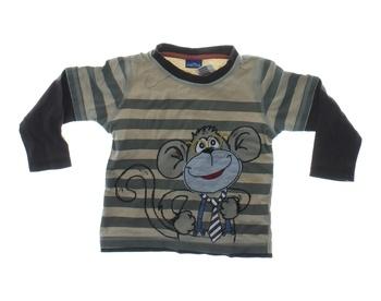 Chlapecké tričko Cherokee pruhované s opicí
