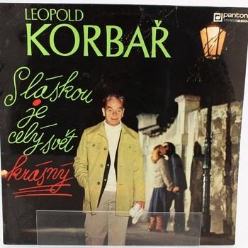 LP deska Leopold Korbař 1978