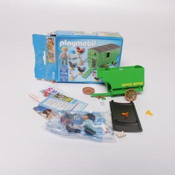 Stavebnice Playmobil pojízdný kurník  70138
