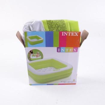 Dětský bazén Intex zelený