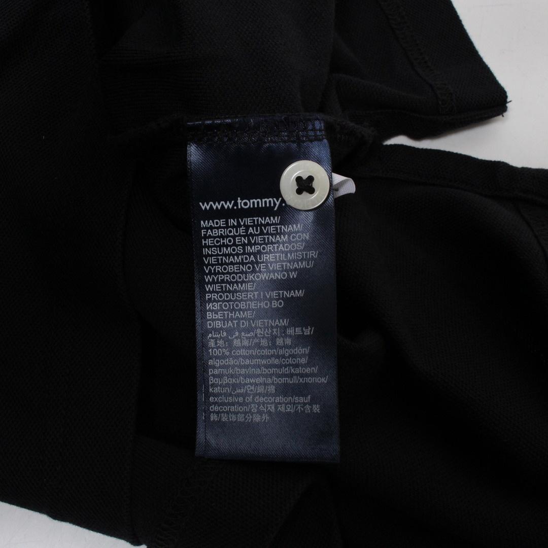 Pánské tričko Tommy Hilfiger černé XXL
