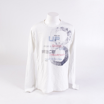 Dětské triko Name it bílé s potiskem