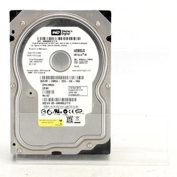 Pevný disk Western Digital WD800JD-75MSA3