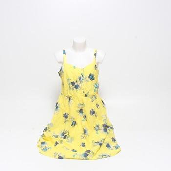 Dámské šaty EDC by ESPRIT žluté