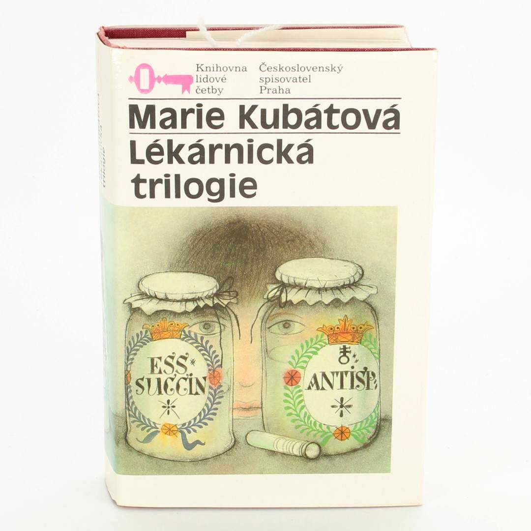 Kniha Lékárnická trilogie Marie Kubátová