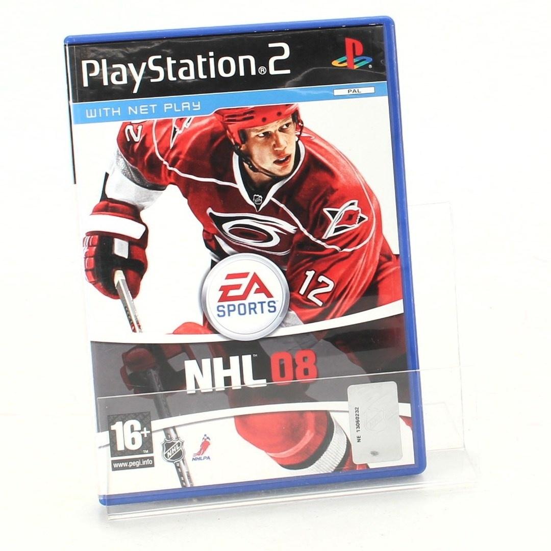 Hra pro PlayStation 2 NHL08