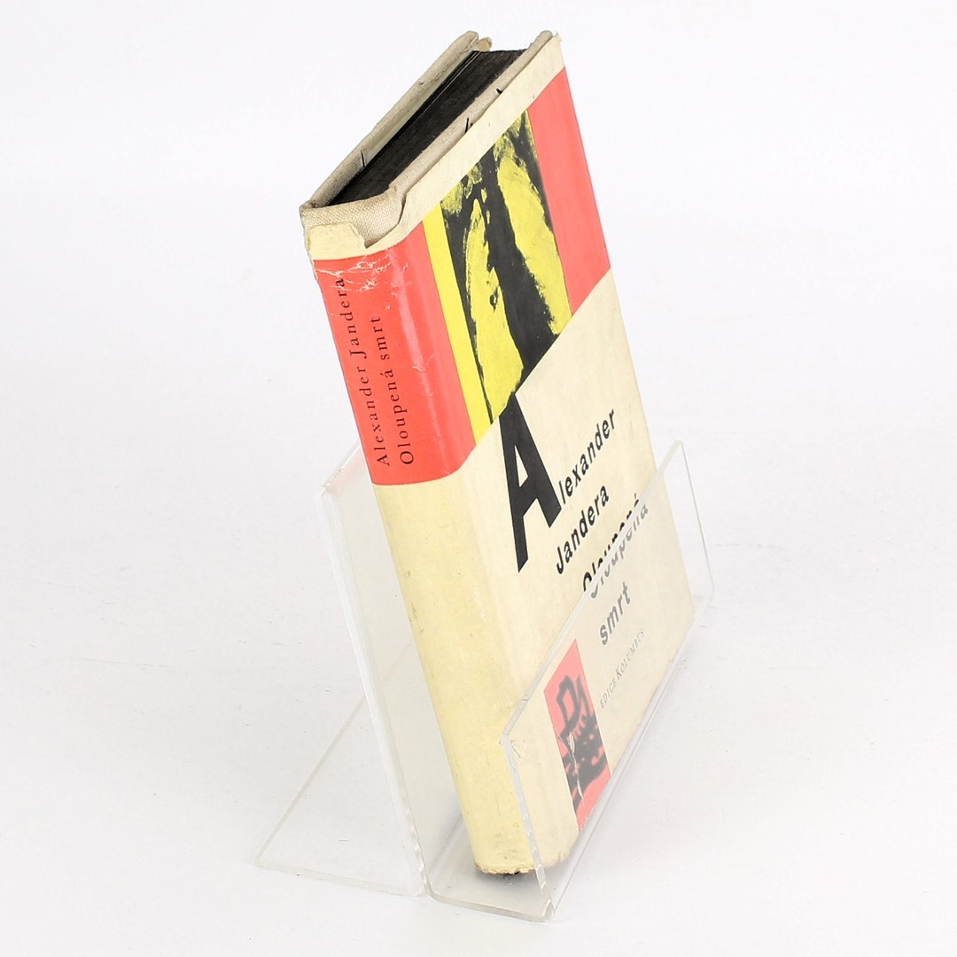 Kniha Alexander Jandera: Oloupená smrt