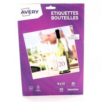Lepící štítky Avery C9269-10