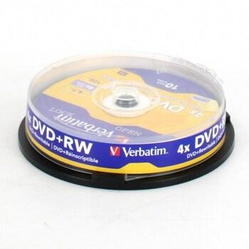 DVD+RW Verbatim 43488 10 kusů