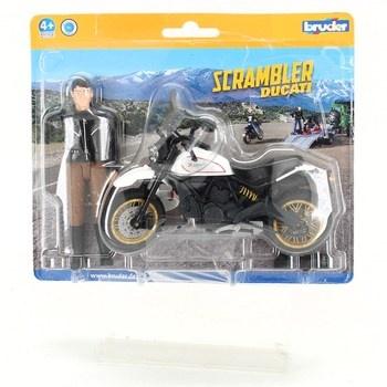 Figurka s motorkou Bruder Scrambler Ducati