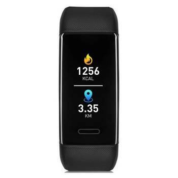 Fitness náramek Niceboy X-Fit GPS černý