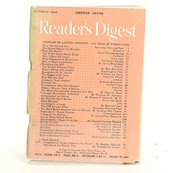 The Reader's Digest October 1946