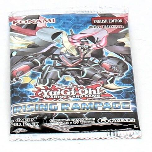 Sběratelské karty YU-GI-OH! Rising Rampage