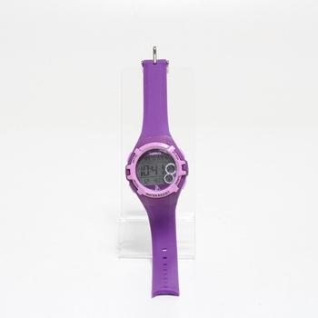 Dětské digitální hodinky Lorus fialové