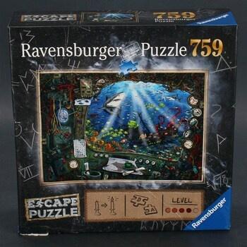 Puzzle Ravensburger 19959 úniková hra