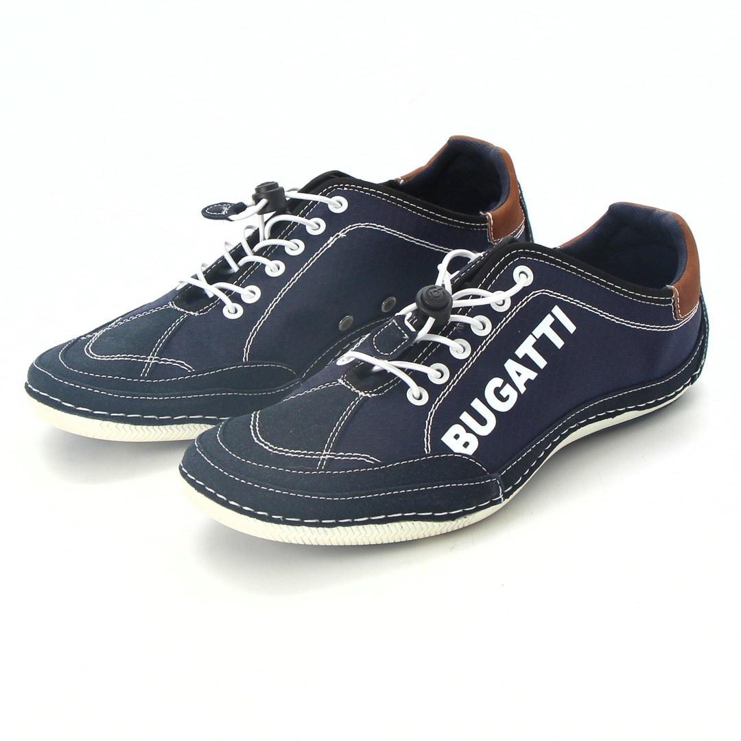 Pánské tenisky Bugatti 321480075400 modré