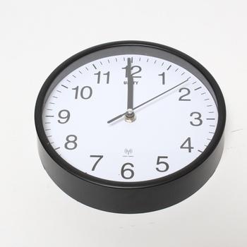 Nástěnné hodiny Unity Radcliffe černé