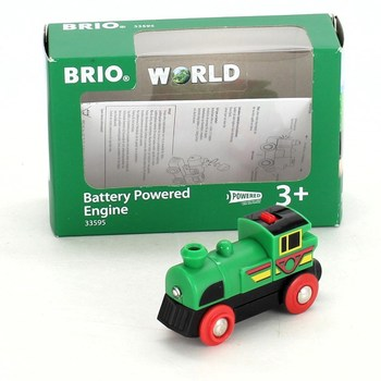 Lokomotiva Brio World vattery powered