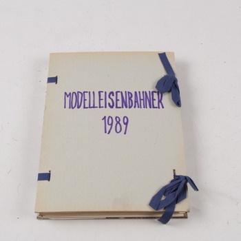 Časopis Modelleisenbahner 1989